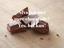 Afvallen met chocolade
