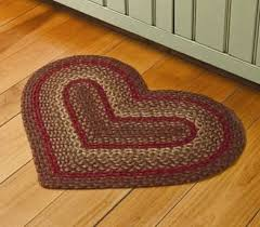 our heart shaped braided accent rugs are made from jute one of the strongest fibers known to man jute has a natural water repellant characteristic and