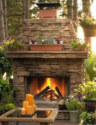 Small Picture 215 best outdoor fireplaces images on Pinterest Backyard ideas
