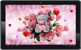 teddy bear cute live wallpaper