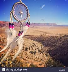 Arizona Dream Catchers USA Arizona Mesa Dreamcatcher landscape in background Stock 4