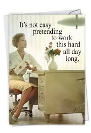 Admin Professionals Day Cards Fun Old School Secretary Administrative Professionals Day