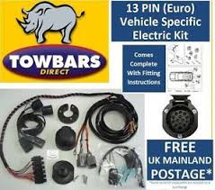 towbar wiring 13 pin kit for nissan x trail t31 2007 to 2014 image is loading towbar wiring 13 pin kit for nissan x