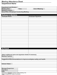 sign and date template meeting sign in sheet template gotemplates
