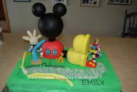 Coolest Mickey Mouse Clubhouse Birthday Cake