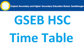 Cbse board class 10, 12 exam date 2021 news update: Gseb Hsc New Time Table 2021 12th Arts Commerce Science Exam Dates