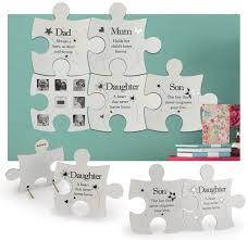 family puzzle wall art