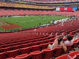 Fedexfield Section 127 Rateyourseats Com