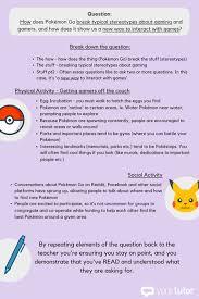 how to write an amazing essay on pok atilde copy mon go sample essay question method 1