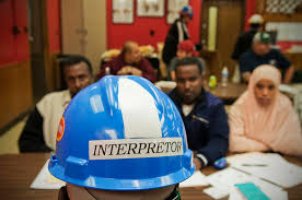 somali workers attend new employee orientation at the tyson beef meat ng plant outside of garden city kansas mohamed abdulkadir is a full time