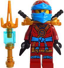 LEGO Ninjago: Minifigur Deepstone Nya mit Waffe aus dem Set 70751: Amazon.de:  Spielzeug