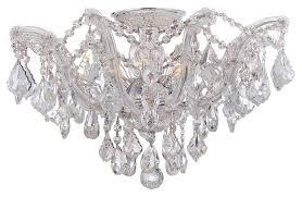 semi flush mount crystal chandelier chandelier designs semi flush mount chandelier