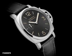Panerai PAM 676 LUMINOR DUE 3 DAYS ACCIAIO replica