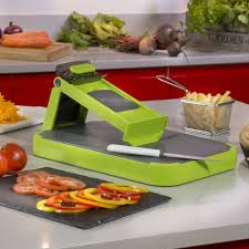 cutting board with food. Tower Health 6 In 1 Mandoline And Cutting Board With Food I