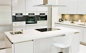 All White Kitchen Designs Decoration Cool Inspiration Ideas