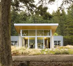 Concrete Cabin A Seaside Shelter In Washington Concrete Masonry Unit Concrete