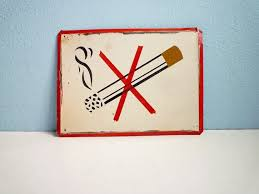 <b>Vintage</b> Eastern European <b>no smoking</b> sign. Stylin'. Advantages Of ...