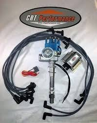 sb chevy sbc small cap h e i hei distributor kit w plug wires e sb chevy sbc small cap h e i hei distributor kit w plug wires 50k e
