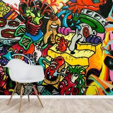 graffiti art wallpaper wallsauce uk