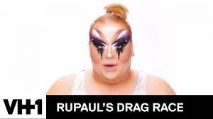 eureka o hara s inner saboteur lewk makeup tutorial rupaul s drag race season 10 hair and makeup tutorials