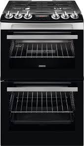 zsi zcg43250xa 55cm gas double oven