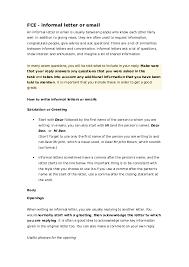 Doc Fce Informal Letter Or Email Enre2_arquitectos