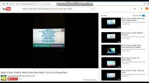 blue s clues what does blue want to do on a rainy day. Blue\u0027s Clues: What Does Blue Want To Do On A Rainy Day Credits S Clues O