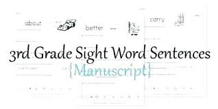 3rd Grade Sight Words Dolch 4th Grade Sight Words Topstudent Co