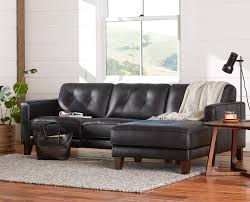 scandinavian leather furniture. the gregata chaise sectional from scandinavian designs finely crafted leather furniture c