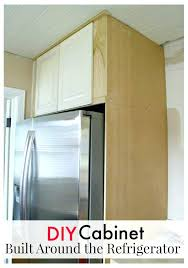 built in mini fridge cabinet how to build a refrigerator court kitchen 4 wine refrigerator built