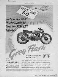 vincent grey flash 1949