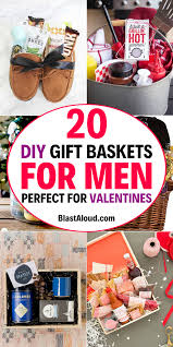 20 diy gift baskets for him that he