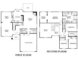 Image Result For Five Bedroom Floor Plan Two Storey Home Decor 5 Bedroom 2  Storey House .