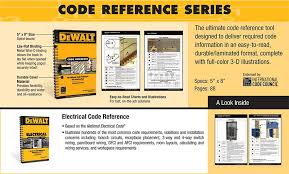 G Code Reference Chart Dewalt Electrical Code Reference 2011 Based On The National