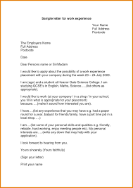 Another Word For Work Experience Work Experience Letter Format For Receptionist Best Of Working