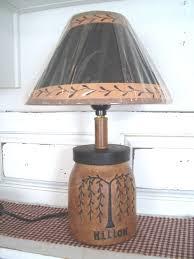 primitive lighting fixtures. Primitive Country Lamps | Decor - Table Quackers Primitives- . Lighting Fixtures V