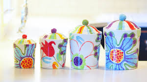 Designer Kitchen Canister Sets Canister Set Etsy