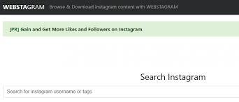 Instagram Web Viewer : Webstagram