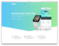 36 Technology Website Templates For Apps Software 2019