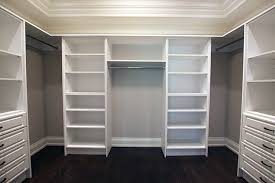 white walk in closet organizers off white
