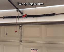 garage door opener torsion spring adjustment doors