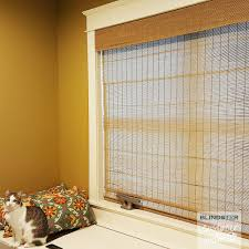 Customer Showcase - Deluxe Bamboo Woven Wood Shades Group A - in Living  room - color