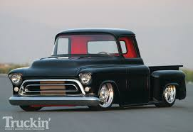 All Chevy chevy apache 1957 : 1957 Chevy Stepside Pickup - Black Gold Photo & Image Gallery