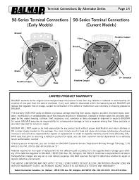 balmar alternator wiring diagram balmar image 12 v alternator manual w 90series drawing on balmar alternator wiring diagram
