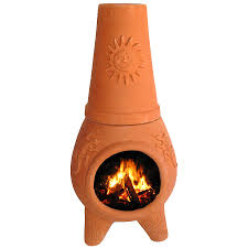 chiminea outdoor fire pit outdoor mexican fireplace