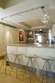 kitchen rail lighting. LOVE The Lighting In This Kitchen! Could Be Cool Your Living Room! Kitchen Rail