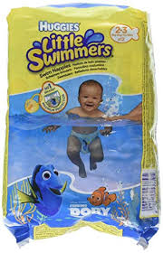 Huggies Little Swimmers Disposable Swim Diapers X Small 7lb 18lb 12 Count