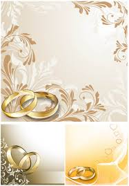 wedding ring vector graphics art, free download design ai, eps Wedding Card Vector Graphics Free Download wedding cards with wedding rings vector Vector Background Free Download