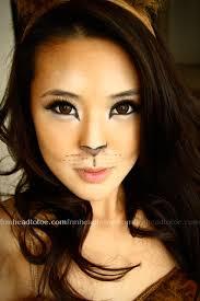 pretty tiger face makeup photo 2