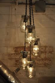 jar lighting fixtures. 5 Mason Jar Chandelier Pendant Light Fixture Beautiful Rustic Industrial Retro | EBay Lighting Fixtures